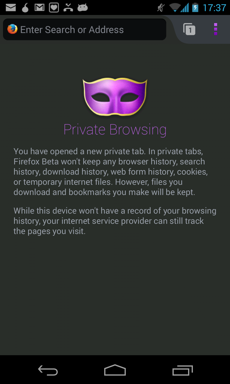 Firefox Mobile: Privacy Enhanced - Guardian Project