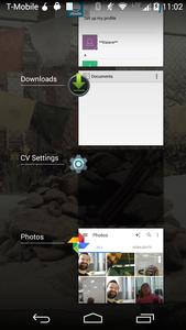 CameraV blocking screenshots in recent apps