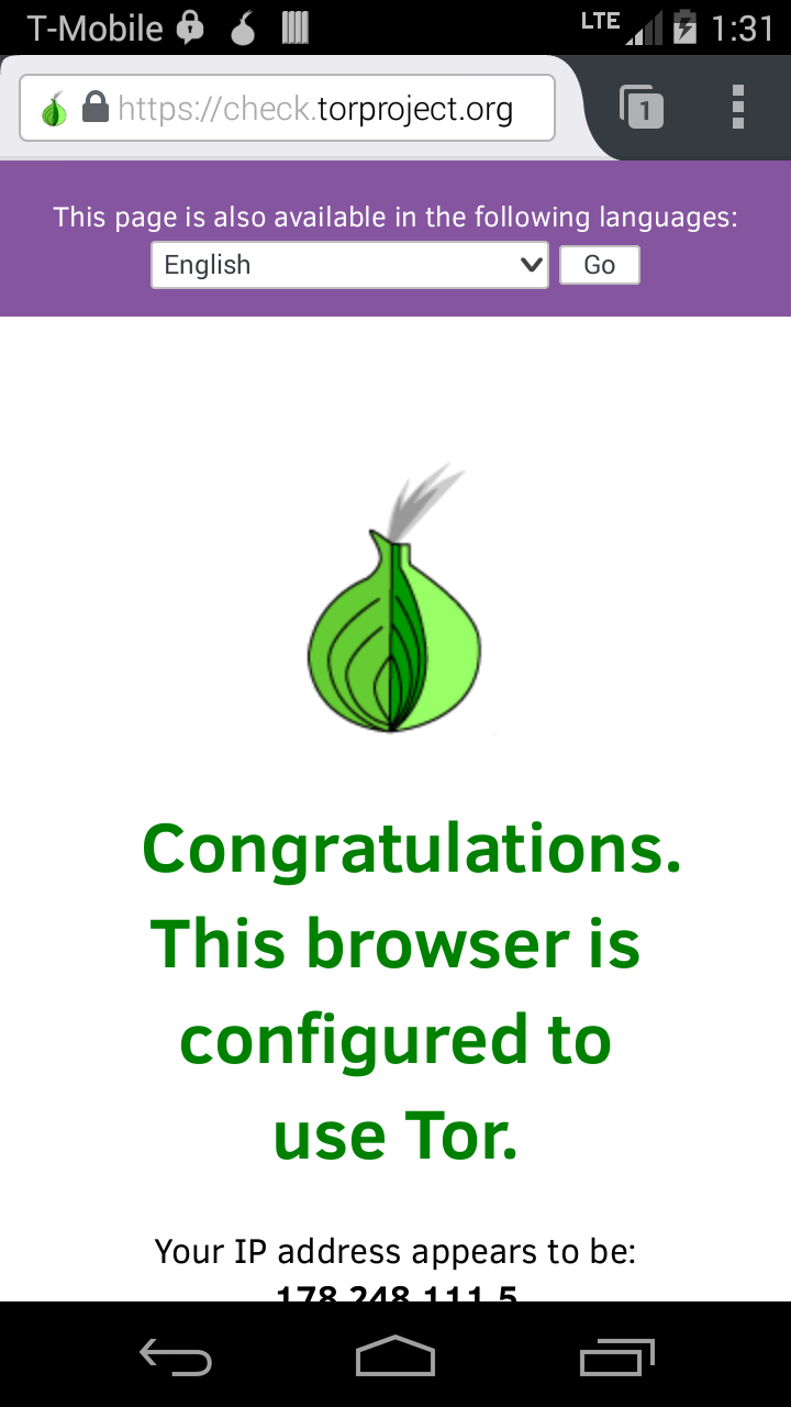 tor compatible browser android